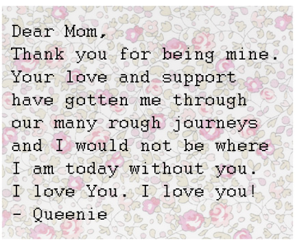 Letters To Mothers (The Quiet Life of Violet)