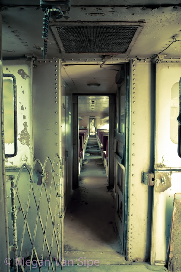 720 abandoned train