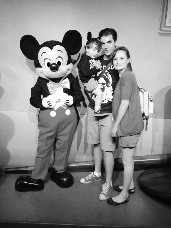 He was not cool with how large Mickey was!