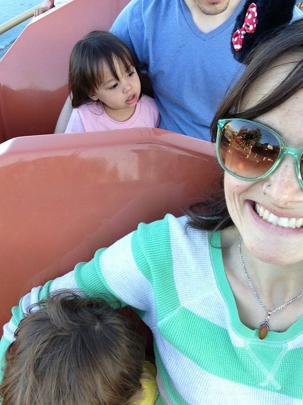 We borroed Ellie and took two toddlers around the park!