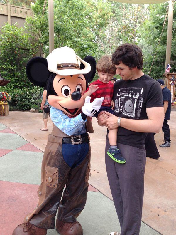 Cowboy Mickey!
